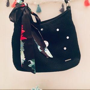 Sak Crocket Embellished Boho Sequin Shoulder Bag